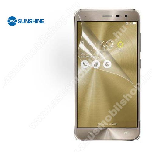 SUNSHINE Hydrogel TPU képernyővédő fólia - Ultra Clear, ÖNREGENERÁLÓ! - 1db, a teljes képernyőt védi - ASUS Zenfone 3 (ZE520KL) - GYÁRI