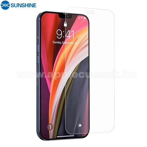 APPLE iPhone 12 Pro MaxSUNSHINE Hydrogel TPU képernyővédő fólia - Ultra Clear, ÖNREGENERÁLÓ! - 1db, a teljes képernyőt védi - APPLE iPhone 12 Pro Max - GYÁRI