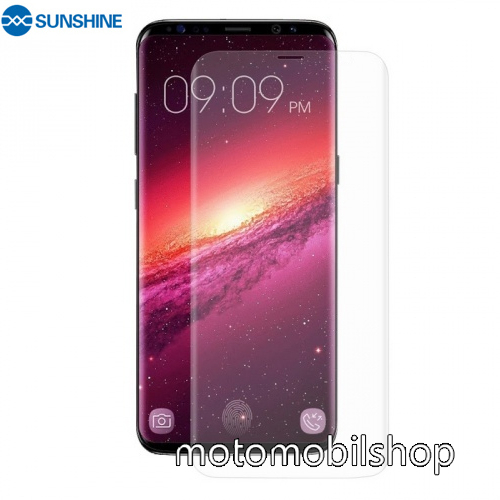 SUNSHINE Hydrogel TPU képernyővédő fólia - Ultra Clear, ÖNREGENERÁLÓ! - 1db, TOKBARÁT - SAMSUNG SM-G960 Galaxy S9 - GYÁRI