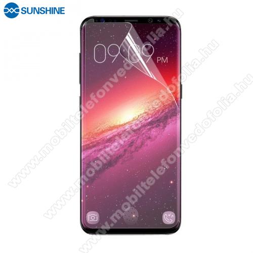 SUNSHINE Hydrogel TPU képernyővédő fólia - Ultra Clear, ÖNREGENERÁLÓ! - 1db, TOKBARÁT - SAMSUNG SM-G965 Galaxy S9+ - GYÁRI
