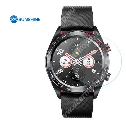 SUNSHINE Hydrogel TPU okosóra képernyővédő fólia - Ultra Clear - 1db, a teljes képernyőt védi - HUAWEI Watch Magic - GYÁRI