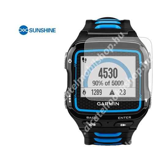 SUNSHINE Hydrogel TPU okosóra képernyővédő fólia - Ultra Clear - 1db, a teljes képernyőt védi - Garmin Forerunner 920XT - GYÁRI
