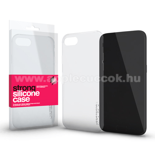 Szilikon v�d? tok / h�tlap - STRONG 2mm - �TL�TSZ� - APPLE iPhone XS Max