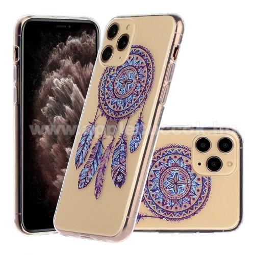 Szilikon védő tok / hátlap - ÁLOMCSAPDA MINTÁS - ÁTLÁTSZÓ - APPLE iPhone 11 Pro