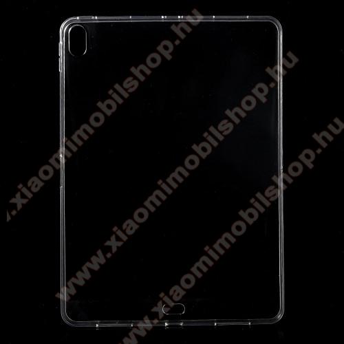 Szilikon védő tok / hátlap - ÁTLÁTSZÓ - APPLE iPad Pro 11 (2018)