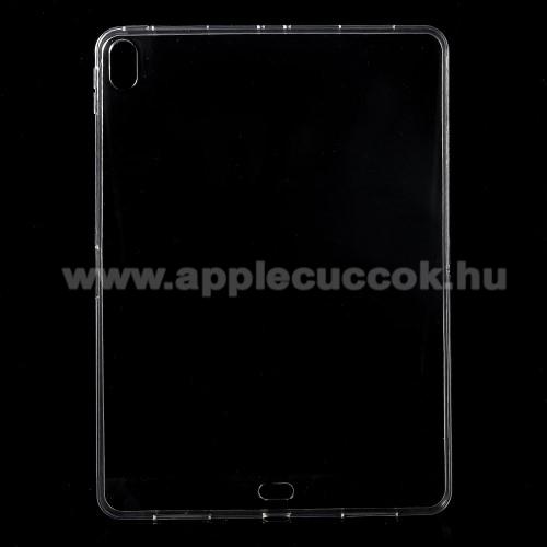 Szilikon védő tok / hátlap - ÁTLÁTSZÓ - APPLE iPad Pro 12.9 (2018)