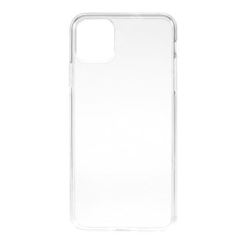 Szilikon védő tok / hátlap - ÁTLÁTSZÓ - APPLE iPhone 11