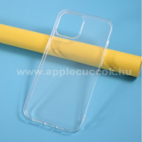 APPLE iPhone 12 Pro MaxSzilikon védő tok / hátlap - ÁTLÁTSZÓ - APPLE iPhone 12 Pro Max