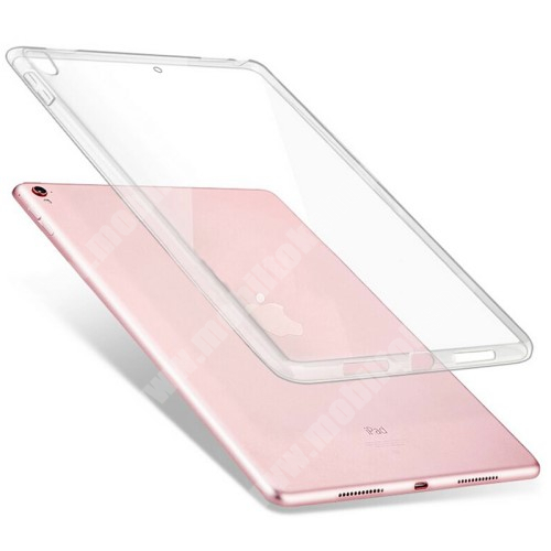Szilikon védő tok / hátlap - ÁTLÁTSZÓ - APPLE iPad Pro 10.5 (2017) / APPLE iPad Air (2019)
