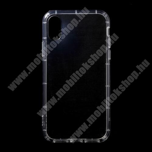 APPLE iPhone X Szilikon védő tok / hátlap - ÁTLÁTSZÓ - APPLE iPhone X / APPLE iPhone XS