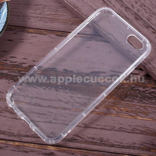 Szilikon védő tok / hátlap - ÁTLÁTSZÓ - ERÕS VÉDELEM! - APPLE iPhone 6 Plus