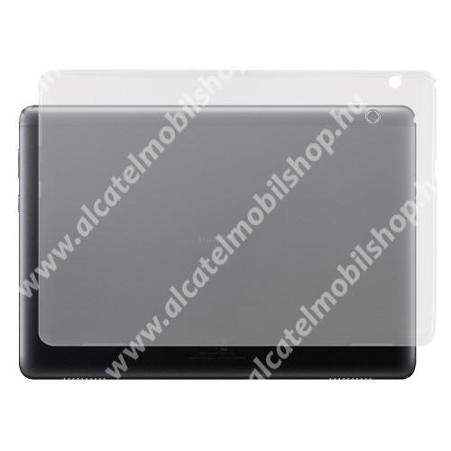 Szilikon védő tok / hátlap - ÁTLÁTSZÓ - HUAWEI MediaPad T5 10