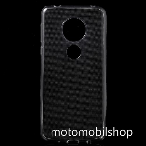 MOTOROLA Moto E5 (2018) Szilikon védő tok / hátlap - ÁTLÁTSZÓ - MOTOROLA Moto E5 (2018) / MOTOROLA Moto G6 Play (2018)