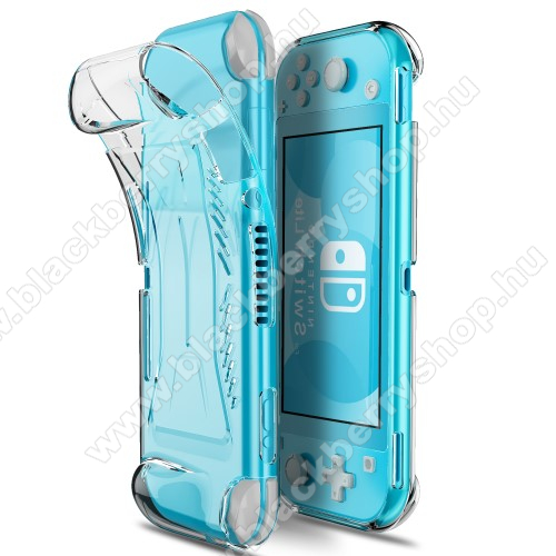 Szilikon védő tok / hátlap - ÁTLÁTSZÓ - Nintendo Switch Lite