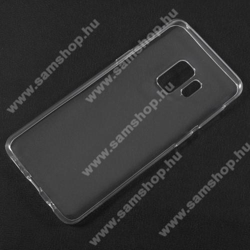 SAMSUNG SM-G960 Galaxy S9Szilikon védő tok / hátlap - ÁTLÁTSZÓ - SAMSUNG SM-G960 Galaxy S9