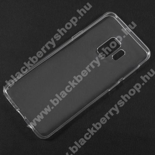 Szilikon védő tok / hátlap - ÁTLÁTSZÓ - SAMSUNG SM-G960 Galaxy S9