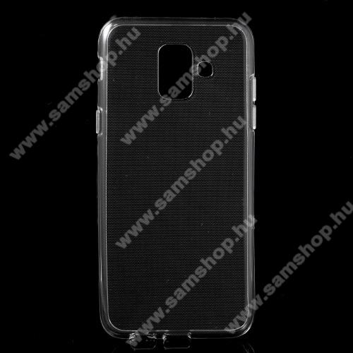 SAMSUNG SM-A600F Galaxy A6 (2018)Szilikon védő tok / hátlap - ÁTLÁTSZÓ - SAMSUNG SM-A600F Galaxy A6 (2018)