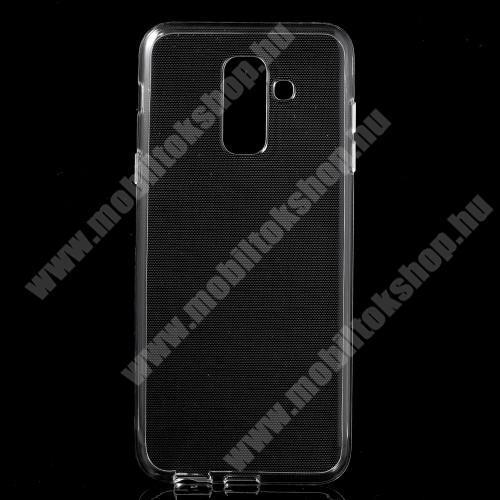 Szilikon védő tok / hátlap - ÁTLÁTSZÓ - SAMSUNG SM-A605G Galaxy A6 Plus (2018)