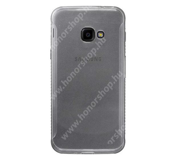 Szilikon védő tok / hátlap - ÁTLÁTSZÓ - ULTRAVÉKONY! 0,6mm - SAMSUNG SM-G390 Galaxy Xcover 4