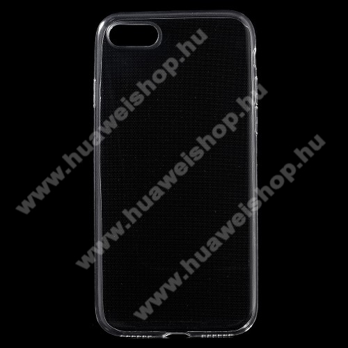 Szilikon védő tok / hátlap - ÁTLÁTSZÓ - ULTRAVÉKONY! 0,6mm - APPLE iPhone 7 (4.7) / APPLE iPhone 8 (4.7)