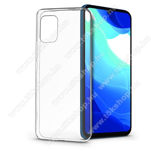 Szilikon védő tok / hátlap - ÁTLÁTSZÓ - Xiaomi Mi 10 Lite 5G / Xiaomi Mi 10 Youth 5G / Xiaomi Mi 10 Lite Zoom