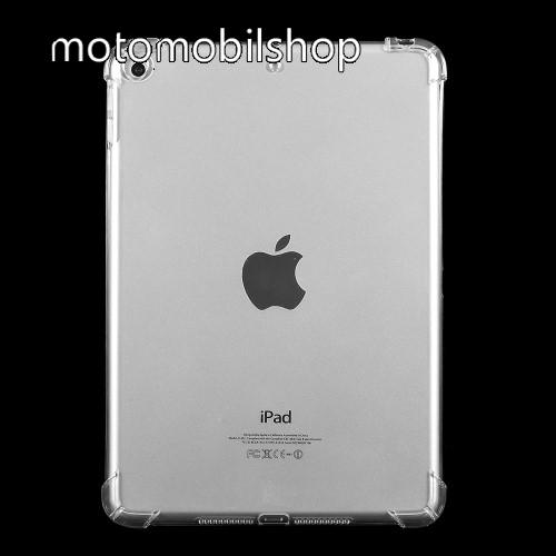 Szilikon védő tok / hátlap - erősített sarkok - ÁTLÁTSZÓ - Apple iPad mini (2019)