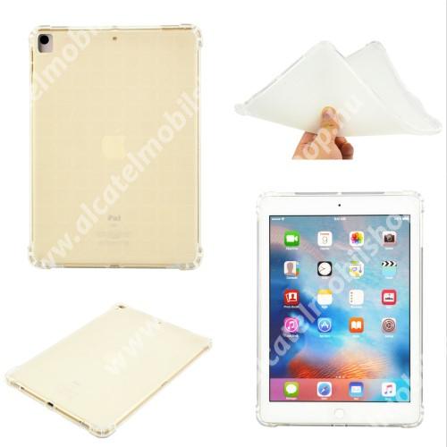 Szilikon védő tok / hátlap - ERŐSÍTETT SARKOK - ÁTLÁTSZÓ - APPLE iPad 10.2 (7th) (2019) / iPad 10.2 (8th) (2020) / iPad 10.2 (9th) (2021)