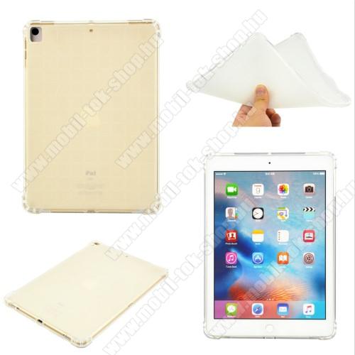 Szilikon védő tok / hátlap - ERŐSÍTETT SARKOK - ÁTLÁTSZÓ - APPLE iPad 10.2 (7th Generation)