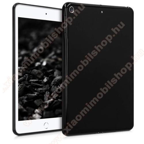 Szilikon védő tok / hátlap - FEKETE - APPLE iPad mini (2019)