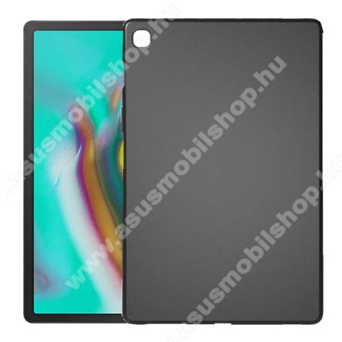 Szilikon védő tok / hátlap - FEKETE - SAMSUNG SM-T725 Galaxy Tab S5e 10.5 LTE / SAMSUNG SM-T720 Galaxy Tab S5e 10.5 Wi-Fi