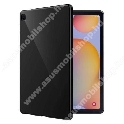 Szilikon védő tok / hátlap - FEKETE - SAMSUNG SM-P610 Galaxy Tab S6 Lite (Wi-Fi) / SAMSUNG SM-P615 Galaxy Tab S6 Lite (LTE)