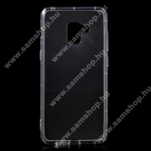 SAMSUNG SM-A730F Galaxy A8 Plus (2018)Szilikon védő tok / hátlap - FÉNYES - ÁTLÁTSZÓ - SAMSUNG SM-A730F Galaxy A8 Plus (2018)