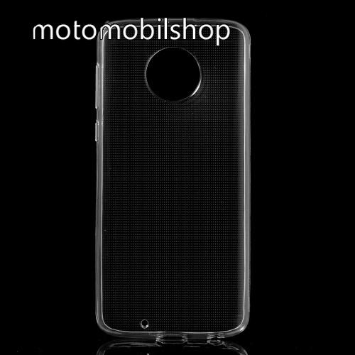 MOTOROLA Moto G6 (2018) Szilikon védő tok / hátlap - FÉNYES - ÁTLÁTSZÓ - Motorola Moto G6 (2018)