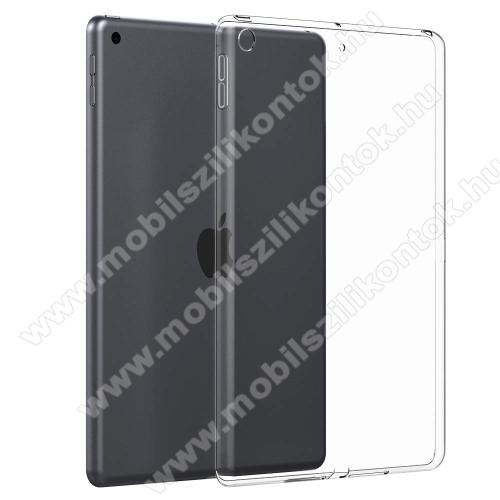 Szilikon védő tok / hátlap - FÉNYES - ÁTLÁTSZÓ - APPLE iPad mini (2019)