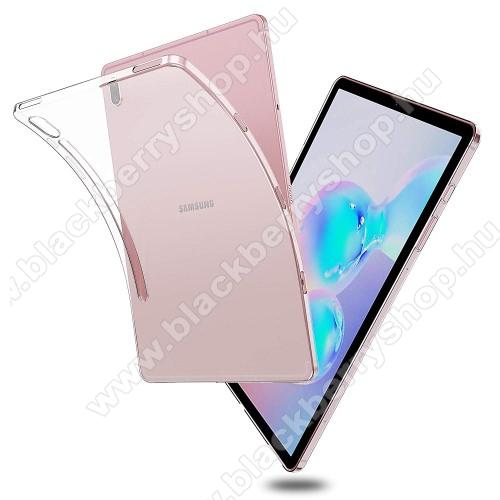 Szilikon védő tok / hátlap - FÉNYES - ÁTLÁTSZÓ - SAMSUNG SM-T860 Galaxy Tab S6 (Wi-Fi) / SAMSUNG SM-T865 Galaxy Tab S6 (LTE)