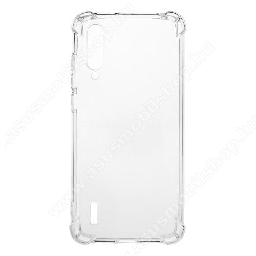 Szilikon védő tok / hátlap - FÉNYES - ÁTLÁTSZÓ - erősített sarkok - Xiaomi Mi 9 Lite / Xiaomi Mi CC9