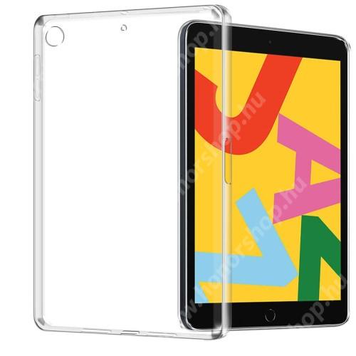 Szilikon védő tok / hátlap - FÉNYES - ÁTLÁTSZÓ - APPLE iPad 10.2 (7th Generation) (2019) / iPad 10.2 (8th Generation) (2020)
