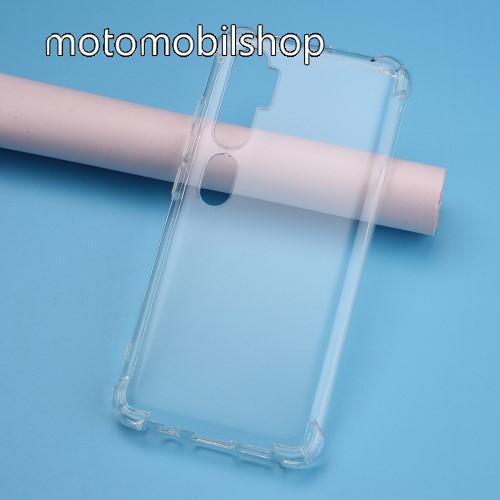 Szilikon védő tok / hátlap - FÉNYES - ÁTLÁTSZÓ - erősített sarkok - Xiaomi Mi Note 10 / Xiaomi Mi Note 10 Pro / Xiaomi Mi CC9 Pro