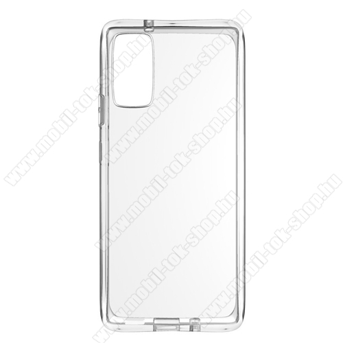 Szilikon védő tok / hátlap - FÉNYES - ÁTLÁTSZÓ - Xiaomi Mi Note 10 Lite