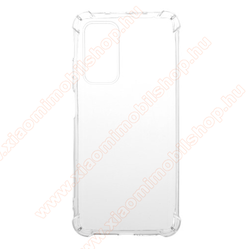 Xiaomi Mi 10T Pro 5GSzilikon védő tok / hátlap - FÉNYES - ÁTLÁTSZÓ - erősített sarkok - Xiaomi Mi 10T 5G / Mi 10T Pro 5G / Redmi K30S