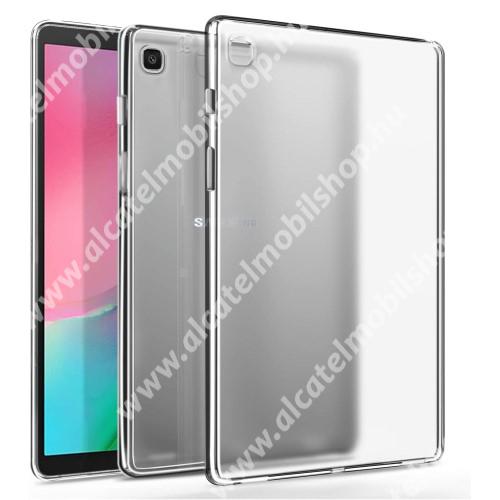 Szilikon védő tok / hátlap - FÉNYES - ÁTLÁTSZÓ - SAMSUNG Galaxy Tab A7 10.4 (2020) (SM-T500/SM-T505)
