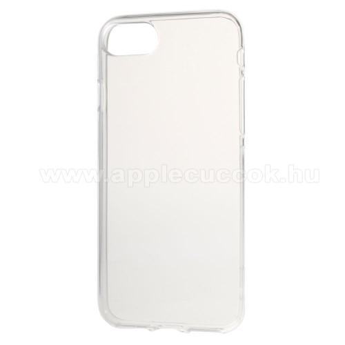 APPLE iPhone 7Szilikon védő tok / hátlap - FÉNYES - ÁTLÁTSZÓ - APPLE iPhone 7 (4.7) / APPLE iPhone 8 (4.7)