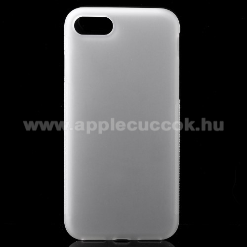 Szilikon védő tok / hátlap - FLEXI2 - ÁTLÁTSZÓ - APPLE iPhone 7 (4.7) / APPLE iPhone 8 (4.7)
