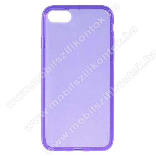 Szilikon védő tok / hátlap - FLEXI 2 - LILA - APPLE iPhone SE (2020) / APPLE iPhone 7 / APPLE iPhone 8