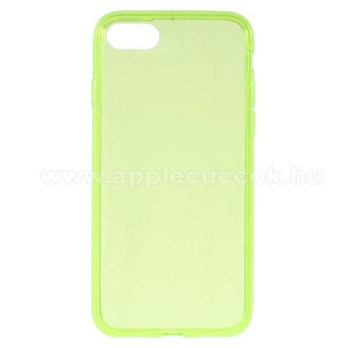 Szilikon védő tok / hátlap - FLEXI 2 - ZÖLD - APPLE iPhone 7 (4.7)  / APPLE iPhone 8 (4.7)