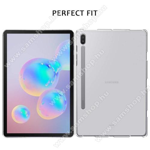 Szilikon védő tok / hátlap - FLEXI - ÁTLÁTSZÓ - SAMSUNG SM-T860 Galaxy Tab S6 (Wi-Fi) / SAMSUNG SM-T865 Galaxy Tab S6 (LTE)