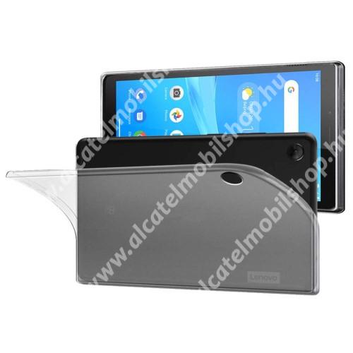 Szilikon védő tok / hátlap - FLEXI - ÁTLÁTSZÓ - Lenovo Tab M8 (FHD) / Lenovo Tab M8 (HD) (TB-8505)