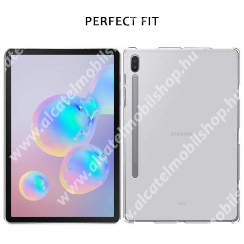 Szilikon védő tok / hátlap - FLEXI - ÁTTETSZŐ - SAMSUNG SM-T860 Galaxy Tab S6 (Wi-Fi) / SAMSUNG SM-T865 Galaxy Tab S6 (LTE)