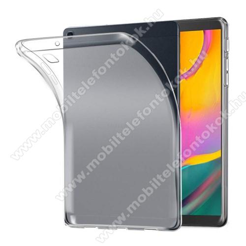 Szilikon védő tok / hátlap - FLEXI - ÁTTETSZŐ - SAMSUNG SM-T295 Galaxy Tab A 8.0 LTE (2019) / SAMSUNG SM-T290 Galaxy Tab A 8.0 Wi-Fi (2019)