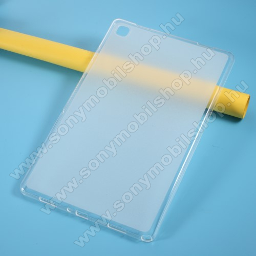 Szilikon védő tok / hátlap - FLEXI - ÁTTETSZŐ - SAMSUNG Galaxy Tab A7 10.4 (2020) (SM-T500/SM-T505)